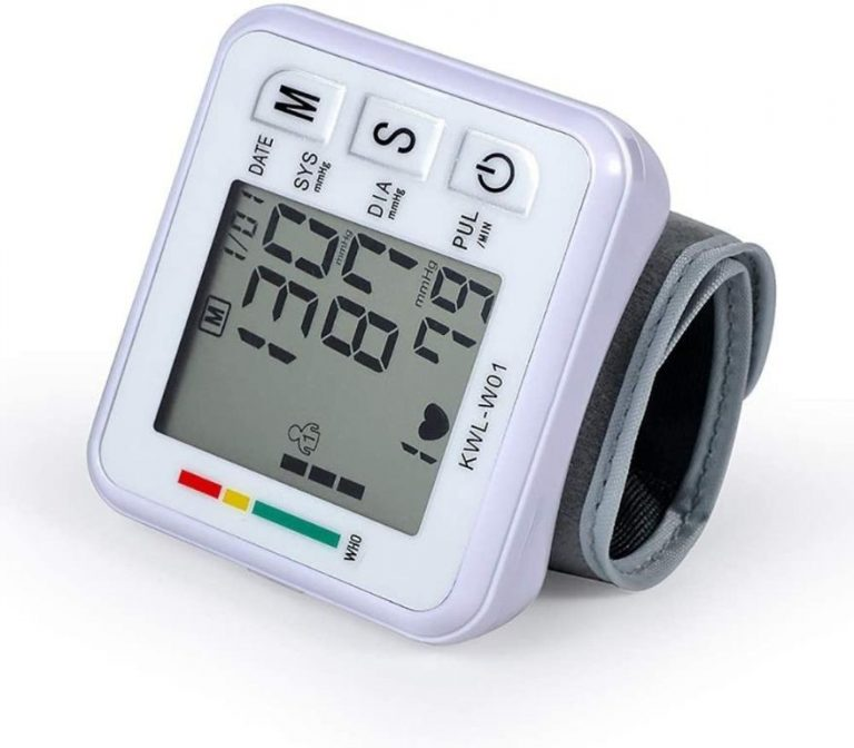 Portable Wrist Strap Blood Pressure Device (1)