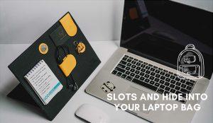 wireless modular hide into laptop bag