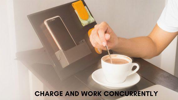 modular charge and work